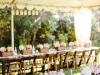 Bodas al aire libre: decoración mesas