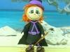 Brujas de goma eva: Morada y negra