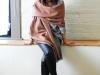 Bufadas y foulards estilo: beige