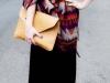Bufadas y foulards estilo: capa de colores