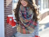 Bufadas y foulards estilo: cuadros