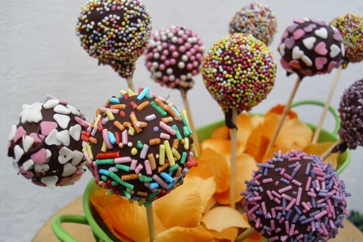 Cake Pops Receta Masa