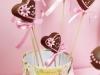Cake Pops San Valentín: Corazones de chocolate