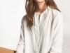 Camisa Blanca Mujer: Massimo Dutti look con pantalón nude