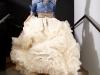 Camisa Vaquera: look con falda XXL