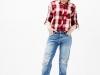 camisa-cuadros-Bershka-jeans
