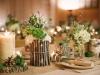 Centros de mesa para bodas de madera: portada