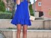 Cómo vestirse para un bautizo: Azul Klein