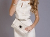 Cómo vestirse para un bautizo: vestido blanco