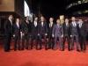 Cristiano Ronaldo presentación película en Londres: alfombra roja con amigos