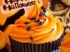 Cupcakes de Halloween: tonos naranjas