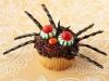 Cupcakes de Halloween: Araña