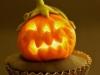 Cupcakes de Halloween: calabaza