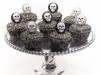 Cupcakes de Halloween: calaveras