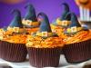Cupcakes de Halloween: Brujitas