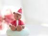 Cupcakes de Navidad: Osito de Navidad
