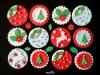 Cupcakes de Navidad: Varios diseños
