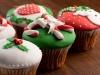Cupcakes de Navidad: Decorativos