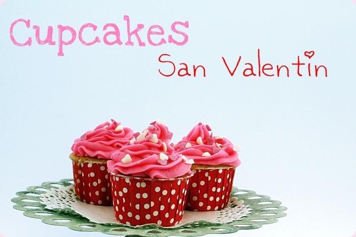 Cupcakes San Valentín: Diseño bonito
