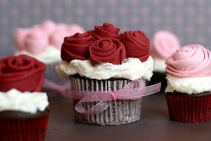 Cupcakes San Valentín: Elaborados