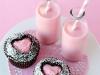 Cupcakes San Valentín: Sofisticados