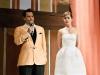 Dakota Johnson look lady de Balenciaga: con Johnny Depp