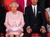 David Beckham: con la Reina Inglaterra
