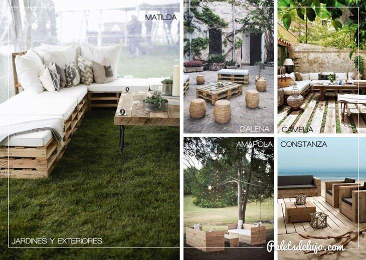 decoracin con palets de madera para jardn palets de lujo ideas decoracin con palets de madera para jardn palets de lujo ideas