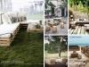 Decoración con palets de madera para jardín: Palets de Lujo ideas