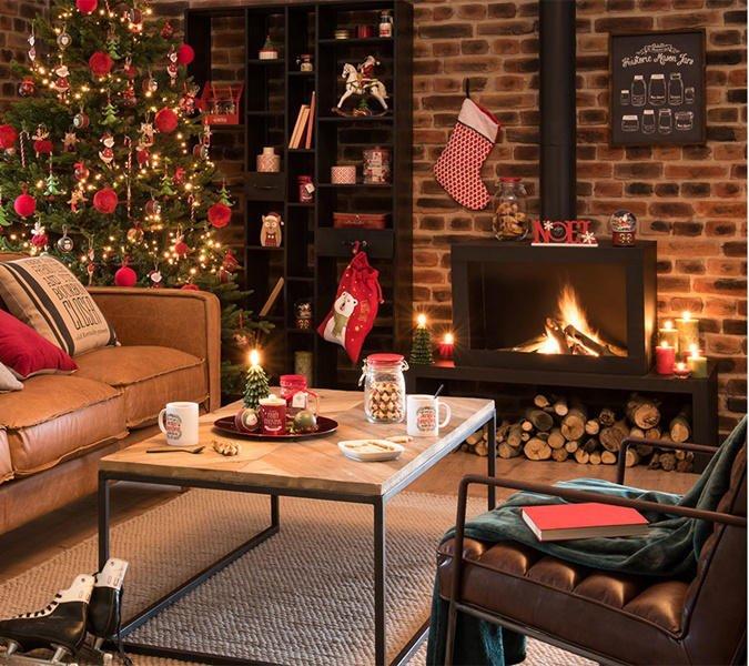 Decoraci n de chimeneas en navidad ilumina tu hogar fotos mujeralia - Chimeneas en mallorca ...