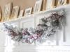 Decoración de chimeneas en Navidad: Leroy Merlin blanco
