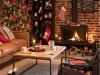 Decoración de chimeneas en Navidad: Maisons du Monde moderna