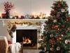 Decoración de chimeneas en Navidad: portada