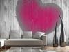 Decoración de interiores con fotomurales: amor