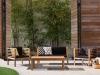 Decoración de jardines Livingo: modelo madera
