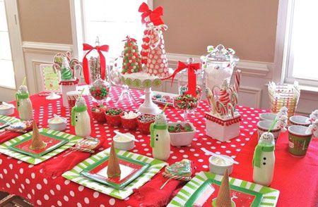 Decoracion De La Mesa En Navidad Ideas Originales Y Elegantes - Decoracion-para-mesa-navidea