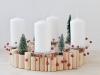 Decoración de la mesa en Navidad al estilo nórdico: Centro de mesa