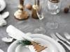 Decoración de la mesa en Navidad al estilo nórdico: detalle servilleta