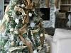 Decoración de Navidad chic: árbol Happy Holidays