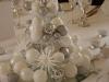Decoración de Navidad chic: centro de mesa