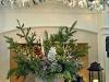 Decoración de Navidad chic: chimenea
