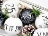 Decoración de Navidad en blanco y negro: portada