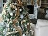 Decoración de Navidad shabby chic: árbol