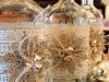 Decoración de Navidad shabby chic: botellas decoradas