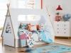 Decoración original de habitaciones infantiles: cama tienda de campaña