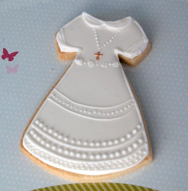 detalles de comunin caseros galletas vestido detalles de comunin caseros galletas vestido