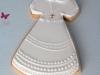 Detalles de comunión caseros: galletas vestido