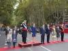 Día de la Hispanidad 2015: los Reyes, la Princesa Leonor y la Infanta Sofía con las autoridades