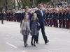 Día de la Hispanidad 2015: la Reina Letizia con la Princesa Leonor, la Infanta Sofía y Mariano Rajoy