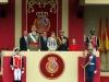 Día de la Hispanidad 2016: Familia Real en la Tribuna Real